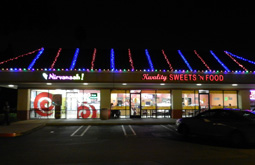 commercial exterior lighting retail stores bay area themes
