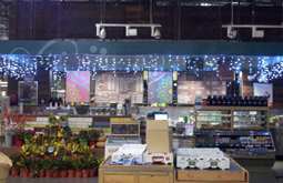 Commercial Lighting Interior Grocery Store in San Francisco Bay Area