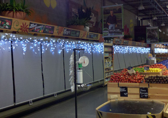 Commercial Interior Lighting for Grocery Store in San Jose